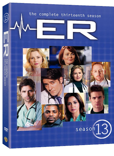 ER The Complete Season Thirteen 3D cover