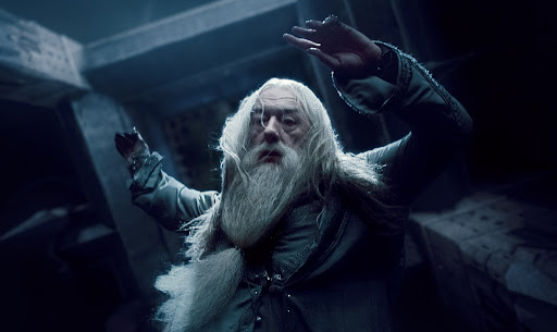 Michael Gambon as Albus Dumbledore (Deathly Hallows)