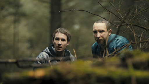 Martin Compston is Danny and Eddie Marsan is Vic