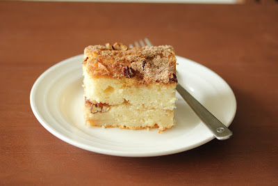 photo of a piece of coffee cake