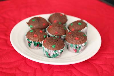 photo of mini nutella cakes