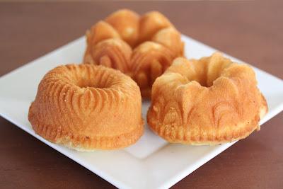 photo of mini rum cakes