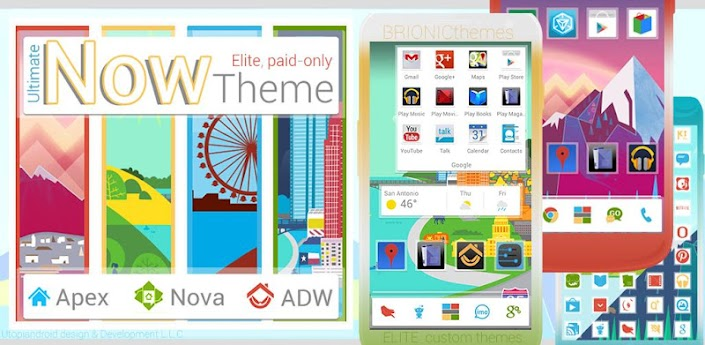 Ultimate Now Apex Nova Theme APK v2.0