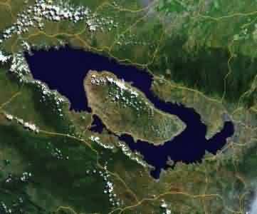 map of toba