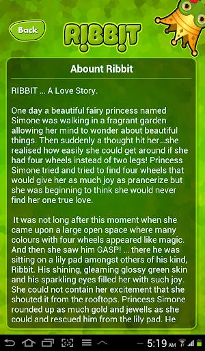 【免費娛樂App】Ribbit!-APP點子