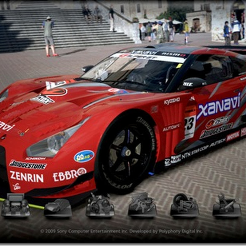 Grand Turismo 5 Screenshots : Super GT GT-R