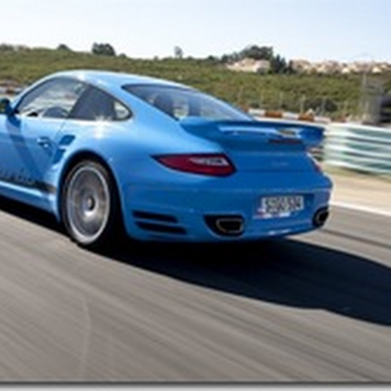 New Porsche 911 Turbo - 10 seconds faster at Nurburgring