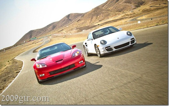 2011-chevrolet-corvette-ZR1-2010-porsche-911-turbo-front-view