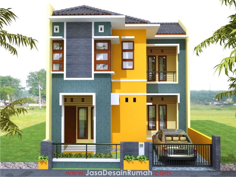 Contoh Rumah Minimalis Dan Skema Denah Ukuran 7x10 ...