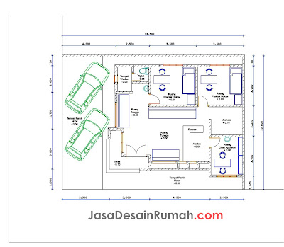 serupa konsep ruko minimalis rumah dan klinik alternatif 1 rumah ...
