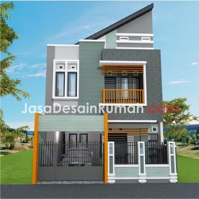 desain rumah atap korea   wall ppx
