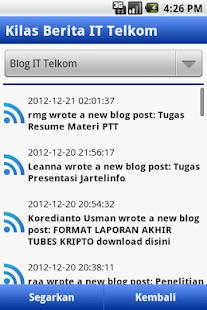 Kilas IT Telkom- screenshot thumbnail