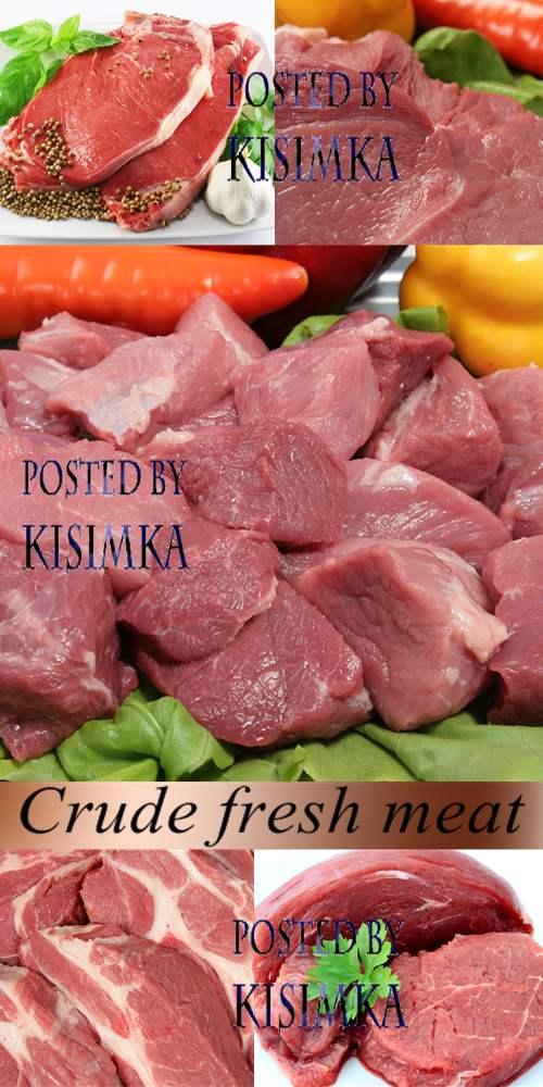 Stock Photo: Crude fresh meat