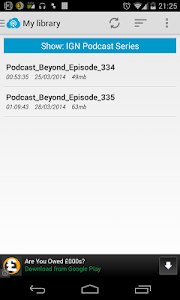 Podcast Now screenshot 2
