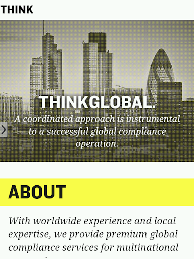 Think Global Compliance