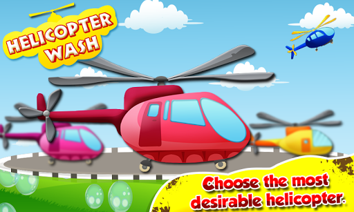 Helicopter Wash - Kids Game