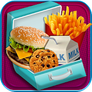 Game School Lunch Maker - Kids Food & Snacks Games APK for Windows Phone