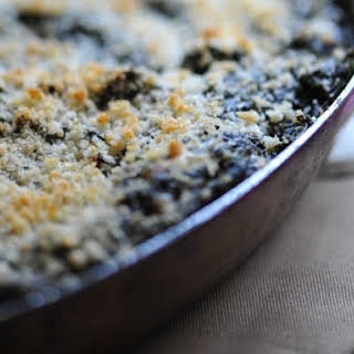 Panko-Crusted Spinach Dip.