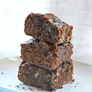 Fudgy Black Bean Brownies.