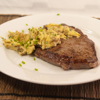 Steak With Eggs