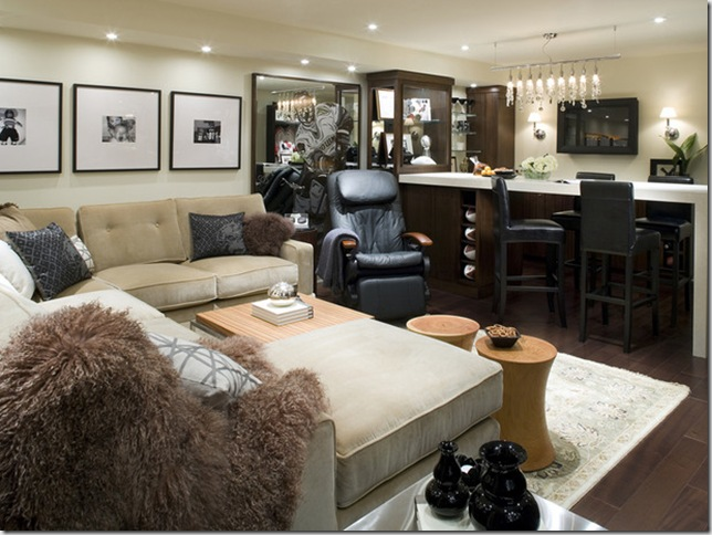 Divine Design Basement Family Room Native Home Garden Design