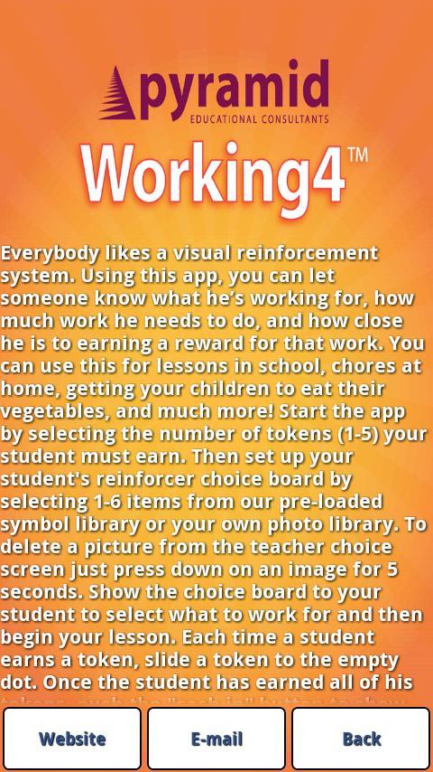Working4- screenshot