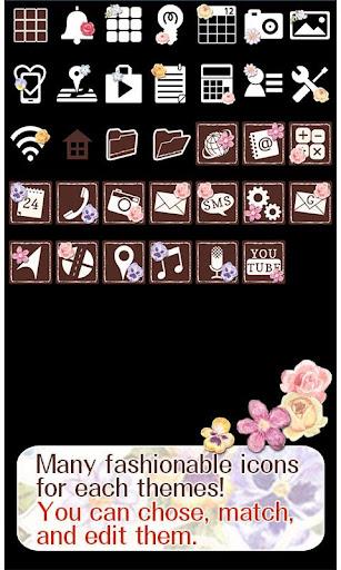 Cute Theme-Floral Cross- 1.0 Windows u7528 4