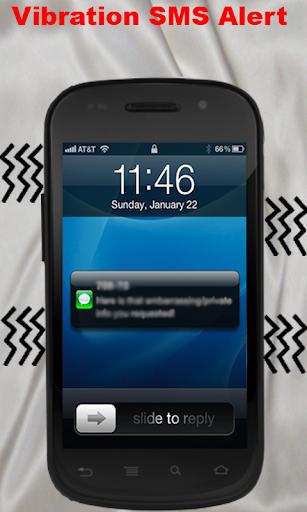 在通話和短信閃警示