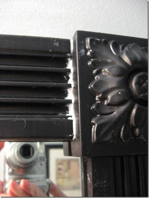 framing mirror corner block tips