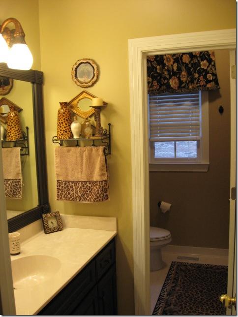 bathroom diy project lighting