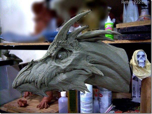 Dragon__clay_sketch__by_goblin_bones