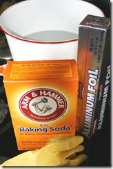 Silver cleaning supplies