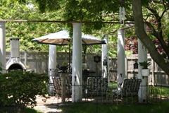 Recycled porch columns