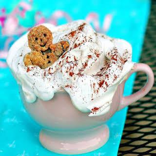 Homemade Gingerbread Spice Latte.