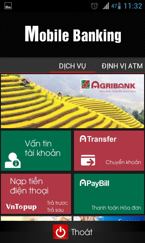 Agribank Mobile Banking - screenshot