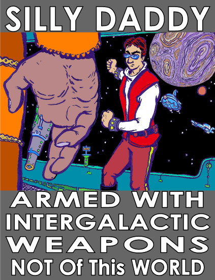 Armed with Intergalactic Weapons: sci-fi eBook now available by Joe Chiappetta