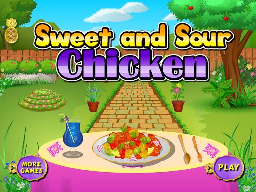 Sweet chicken cooking games