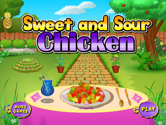 Sweet chicken cooking games - screenshot