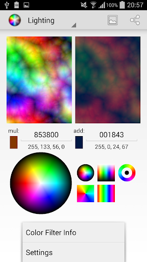 Android Color Filters