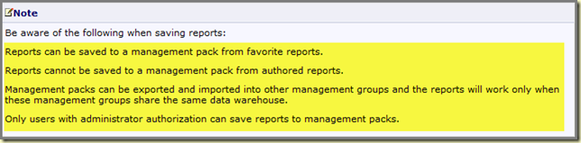 Thoughts on Azure, OMS & SCOM: Customized Reports in SCOM R2