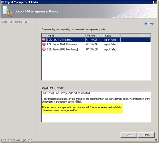 Thoughts on Azure, OMS & SCOM: EventID 26319 and error 'An exception
