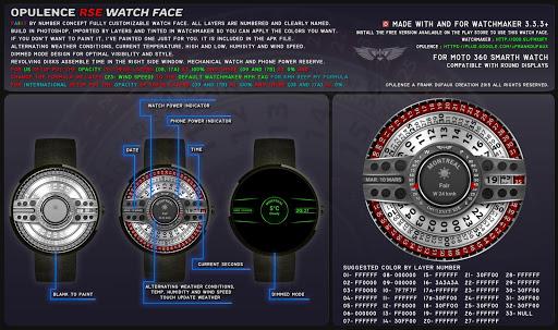 Opulence RSE Watch Face