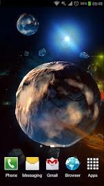 Deep Space 3D Pro lwp Screenshot 3
