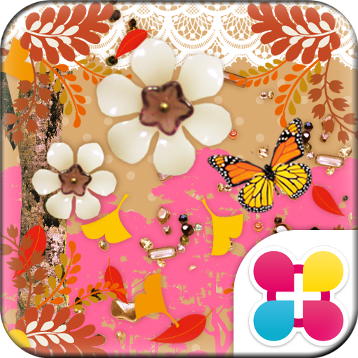 秋の壁紙きせかえ Honey color Icon
