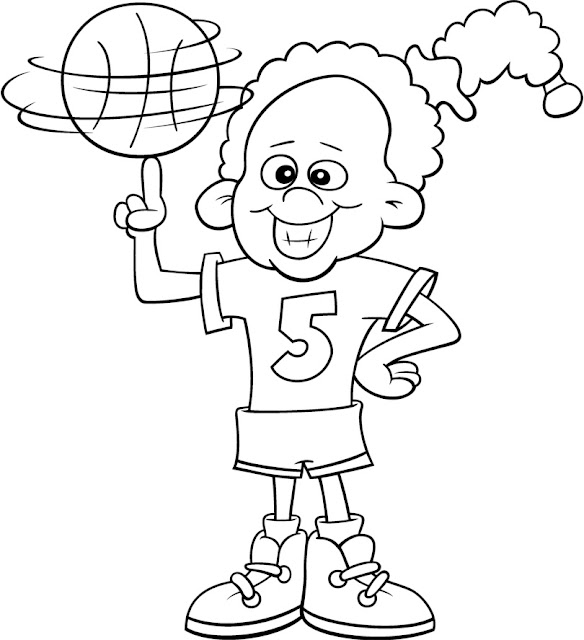 Los Niños Y El Deporte Fichas Para Pintar