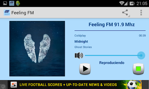 Feeling FM 91.9 Mhz- screenshot thumbnail