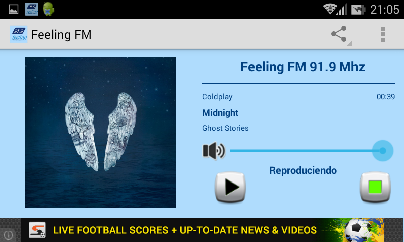 Feeling FM 91.9 Mhz- screenshot