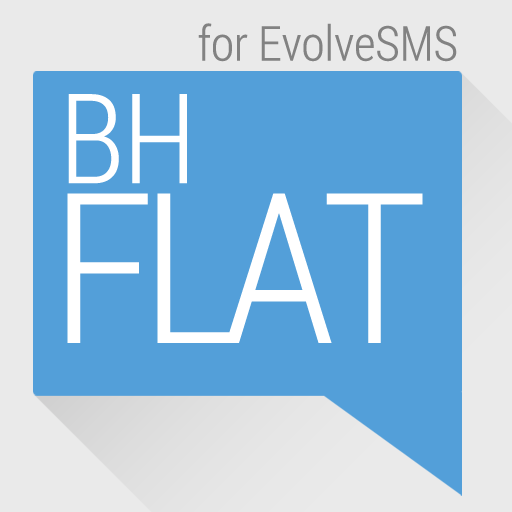 EvolveSMS Theme - BH Flat LOGO-APP點子