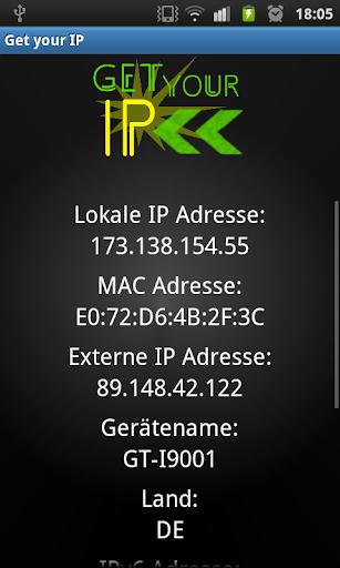 Get your IP