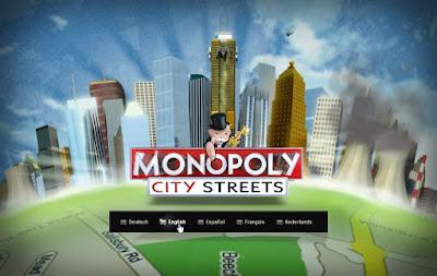 Monopoly City Streets - Select Language